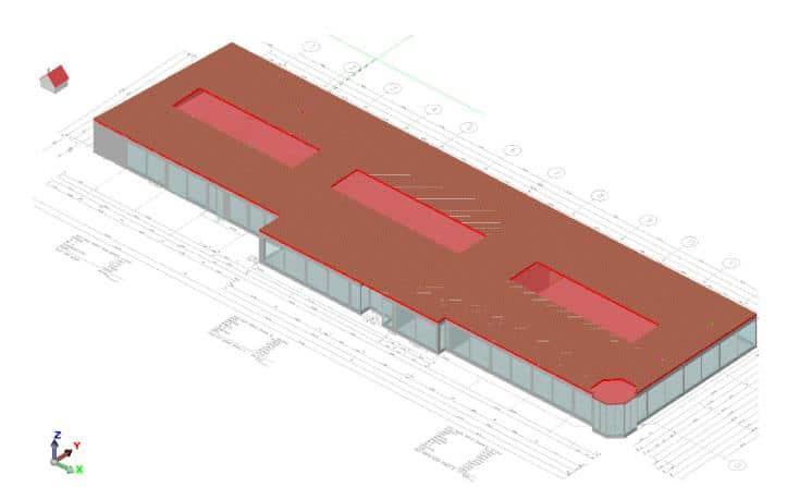 Mh Simulation Gebäude Autohaus Rüschkamps