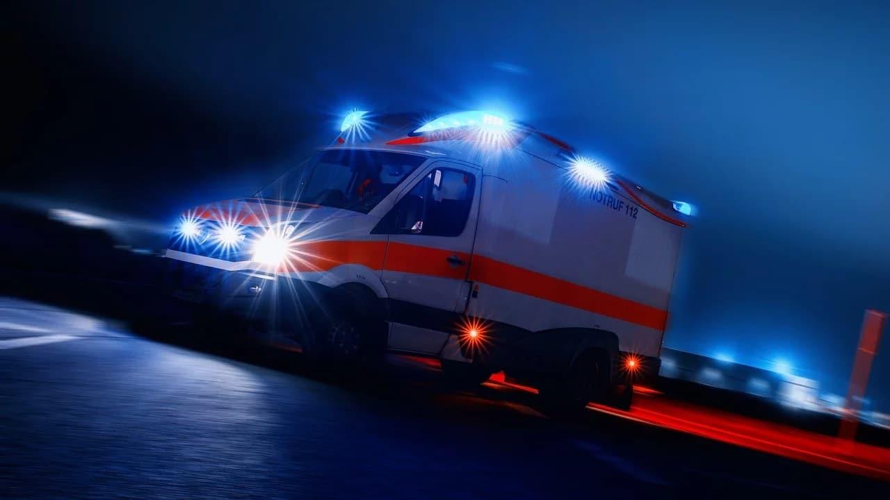 Rettungswagen mit 5G Notarzt
